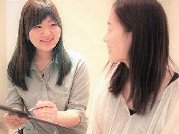 シグネット 与野店(signet)の写真/あなた専任のスタイリストがあなた専用のヘア&頭皮ケア・施術をしていくから安心度が違います☆