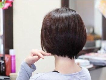 アジュール(Azur)の写真/髪と頭皮のダメージが気になるあなたへ!!新薬剤×美容成分たっぷりのカラー剤と組み合わせて-5歳髪が叶う♪
