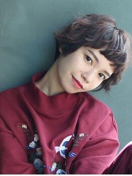 ニカイ(NIKAI.)の写真/【似合わせ】×【扱いやすさ】を重視◎細部まで考慮されたショートヘアであなたの魅力が溢れだす♪