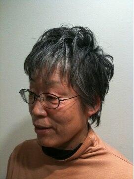 ガーデン ヘアー ワーク(garden hair work)☆-5歳がキーワード☆なエレガンスショート
