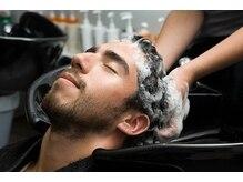 男性にこそ!!おすすめ ★ヘッドスパ★髪と頭皮の状態を改善♪リラクゼーション効果もあり♪