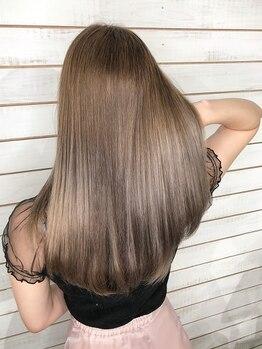 ビーヘアサロン(Beee hair salon)の写真/【TOKIO/oggi otto取扱い】最高級Trで髪質改善★触れたくなるようなモテHairを♪【シールエクステ/渋谷店】