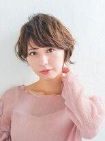 リトル クルク 銀座2号店(little×kuruku)フェミニンショートボブ