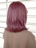 ルッツ(Lutz. hair design)コーラルピンク