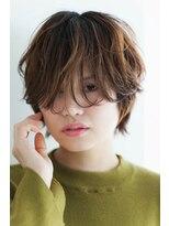 リル ヘアーデザイン(Rire hair design)【Rire-リル銀座-】ウザバングショート☆