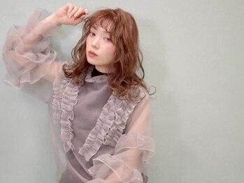 アルルヘアー ファン(ARURU HAIR fan)の写真/NEWニオイや刺激の少ない髪に優しいカラー☆リッチな艶感と深みのあるカラーで大人っぽさを演出!!