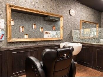 ヘアーサロン オルゴーリオ(Hair Salon Orgoglio)の写真/【藤が丘】男女問わず人気の半個室アットホームサロン。落ち着いた店内でお仕事疲れのあなたを癒します☆