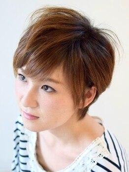 アズヘアー(AtoZ hair)の写真/高いカット技術力が魅せるこだわりの再現性!お客様のご要望のスタイルになるよう1人1人に合わせた提案を♪