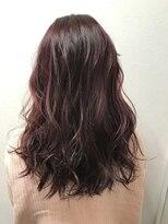 ポッシュ 原宿店(HAIR&MAKE POSH)ピンクパープル×カラーハイライト
