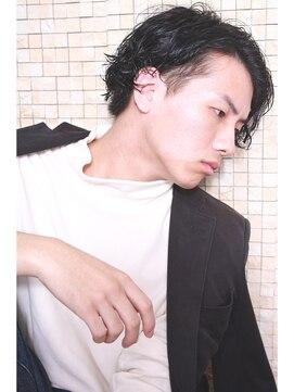 デラ 銀座 中央通り店(DERA'S)【HAIR DERA'S】マニッシュ+スパイラルパーマby.MATSUDA