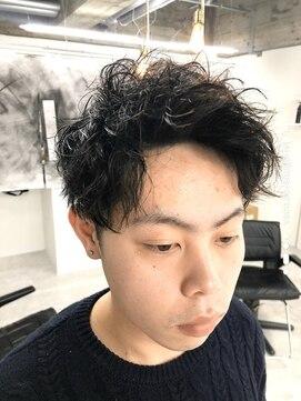 アブアイロス(LOSS)【stylist/shogo】ツイストスパイラル/50%