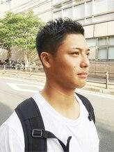デコヘアー キートス(DECO HAIR kiitos)クリスチアーノロナウド風刈り上げ☆