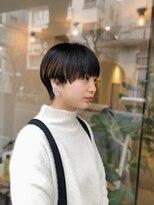 ビーチェ 渋谷(Bice)アクセントカラーのマッシュショート【Bice渋谷】