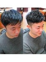 ヘアーメイクサロンアカイシ(hairmake salon AKAISHI)ツーブロショートウェーブ