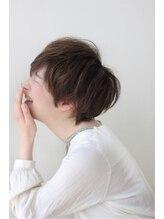 モッズヘア 青葉台店横顔も可愛く見えるショートスタイル!