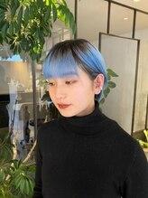 ヘアーアンドメイク ルシア 梅田茶屋町店(hair and make lucia)ショート
