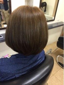 ヘアーサロン ユニオン(HAIR SALON union)の写真/20分で終わる白髪染め!!いつものメニューにちょこっとプラス☆気になる生え際がお手軽に染まる♪