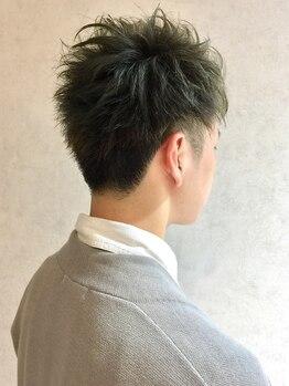 ヴィフ ヘアアンドデザイン(Vif hair&design)の写真/【駐車場完備★】柔らかいスタイルが得意!ON/OFFどちらもキマる再現性の高いメンズStyleに★