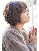 ルージュ(Rouge)【米倉和寿】30代40代大人かわいい小顔ワンカール ショートボブ
