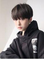 アルバム シンジュク(ALBUM SHINJUKU)韓国クールショート_ショートパーマホワイトアッシュ_6706