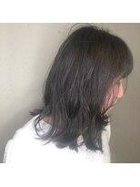 アルマヘアー(Alma hair by murasaki)おフェロな雰囲気たっぷりのロブスタイル