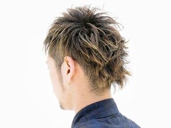 ヘア フラッグ 西葛西店(hair flag)の写真/【西葛西駅徒歩1分】メンズ限定メニュー多数でお手頃価格だから気軽に通いやすい◎毎朝のセットをラクに!