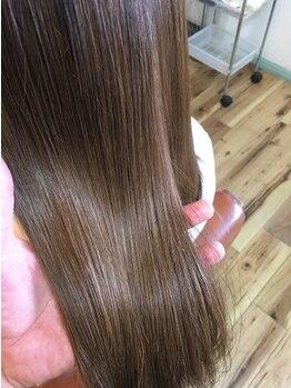 ヘアサロン シェア(hair asalon Share)の写真/《久々登場◆飾磨》ダメージが気になる方に!完全日本製造の全く薬剤を使わないストレートトリートメント☆