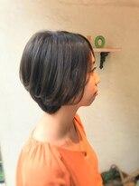 ヘアーメイク アフィーノ(hair make affino)ショートグラボブstyle