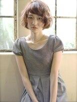 ラベリー(LOVELEY)LOVELEY ゆるふわアッシュミディ ミルクティーカラー☆423
