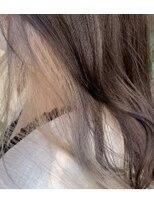 アレッタ ヘア オブジェ(ALETTA HAIR objet)インナーカラー ケアブリーチ シルバー ホワイト【高木美樹】