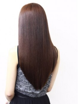 庵 ヘアー(hair)の写真/今までの縮毛矯正・ストレートとは違った『髪質改善湿熱ストレート』!ナチュラルストレートを叶える☆