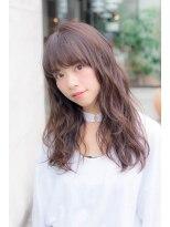 ダミアバイルル(DAMIA by LuLu)☆トップノット・ミルクティーカラー・無造作カールヘア寺田警二