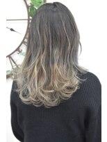 ヘアーサロン エール 原宿(hair salon ailes)(ailes原宿)style284 デザインカラー☆グレーラベンダー