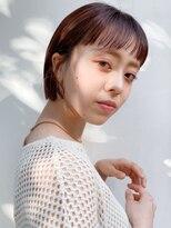 ギンザ ピークアブー 並木通り(GINZA PEEK A BOO)【デザインカラー】ミニボブ×ラベンダーピンク