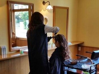 美容室ルーシーの写真/『白髪を隠す・生かす』ホームカラーの失敗を上手にフォローします◎初めての方でもお気軽にご相談下さい♪