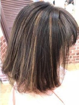 美容室 シャルドンの写真/白髪染め(根本2cm)+カットが「¥8250」効果を実感しやすいサロン♪