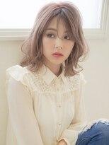 アグ ヘアー ドレス 喜久田店(Agu hair dress)《Agu hair》シースルーバングでふんわり色っぽミディ