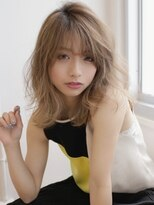 アグ ヘアー ジャパン 札幌9号店(Agu hair japan)レイヤー×ハイトーンふわミディ