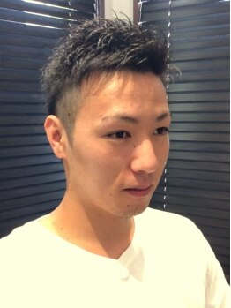 ミューズ 東藤沢店(Muse)の写真/男性でも気軽に入れるカジュアルサロン★卓越したカット技術でクセ毛も生かすスタイルに!視線を独り占め♪