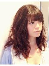 ヘアープレイス ガガ(Hair place GAGA)ゆるふわ・デジタルパーマで、スタイリングも楽♪