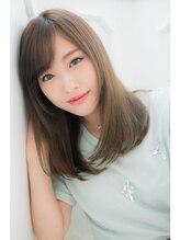 ヘアーアティレ(HAIR attirer)ベビーバングの美髪ヘアー!