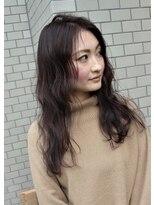 ヘアーライズ 池袋東口店(hair RISE)エヌドットアッシュアディクシーパープルガーネット【フェード】