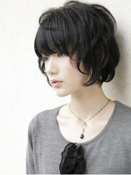 イチゴ 青物横丁店(ICH GO)の写真/【Cut¥2560】一人ひとりの骨格・頭の丸みに合わせてカットするので、髪のデザインだけで小顔効果バツグン♪