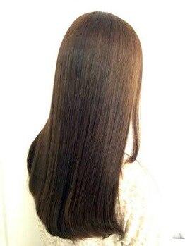 アルファガーデン(alpha garden)の写真/染めるたびに美しく♪大人女性の方の、白髪やクセ毛など、髪や頭皮の悩みを高い知識力でアドバイス★