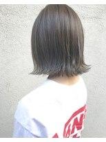 レックスヘアーインターナショナル(REX HAIR INTERNATIONAL)【REX 心斎橋】切りっぱなしボブ×アディクシーカラー