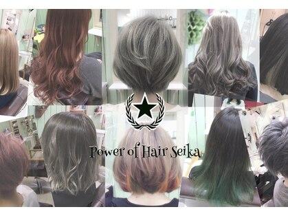 パワーオブヘアーセイカ(Power of Hair Seika)の写真