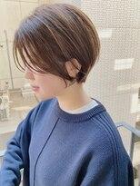 ヴィー 銀座二丁目(VIE)【銀座/VIE/つばさ】カットが上手い◎横顔美人なショートボブ