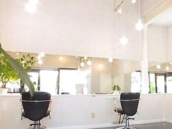 ブッソラヘアー(Bussola hair)の写真/光の差し込む開放的な空間で、あなただけのサロンタイムを―…。髪だけではなく、心も癒されるひとときに♪