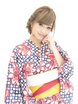 花火大会&夏祭り浴衣髪型 ☆2015最新浴衣ヘアー☆