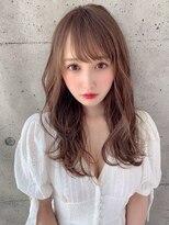 アフロート ルヴア 新宿(AFLOAT RUVUA)小顔な透け前髪で可愛さもあり、綺麗さもある★こ慣れスタイル☆